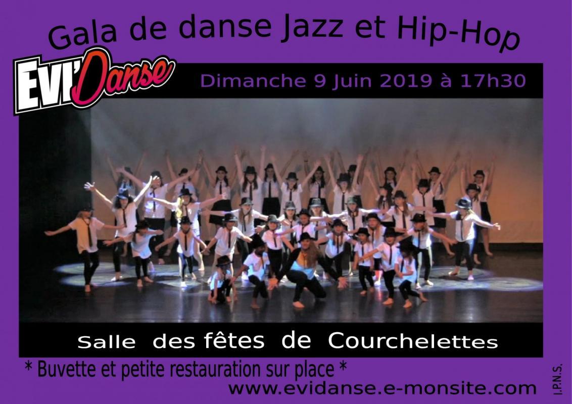 Evi danse affiche gala 2019 jazz hip hop 1